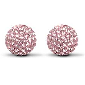 10mm Special Pink Earrings