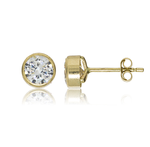 5mm Cz Rubover Studs