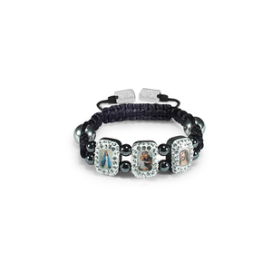 Kids Rectangle Saints Bracelet