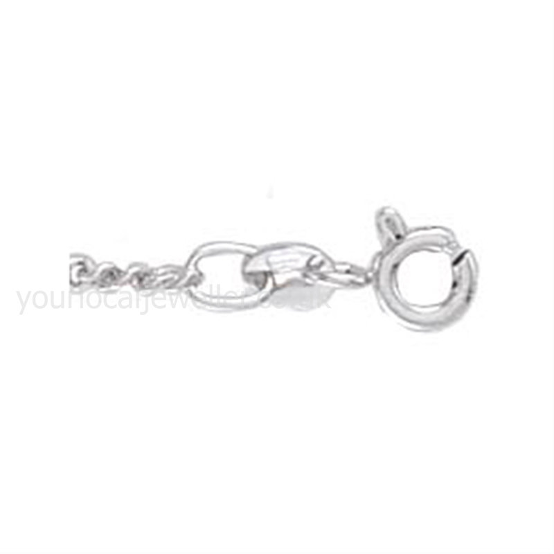 Ladies' Sterling Silver Classic Tight Link Curb Chain