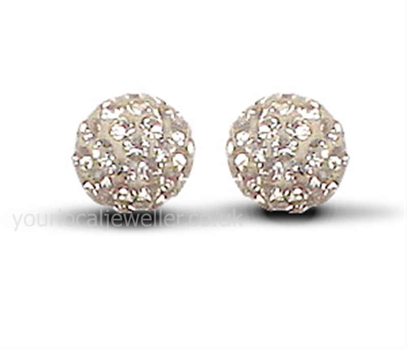 7.5mm Special Champagne Earrings